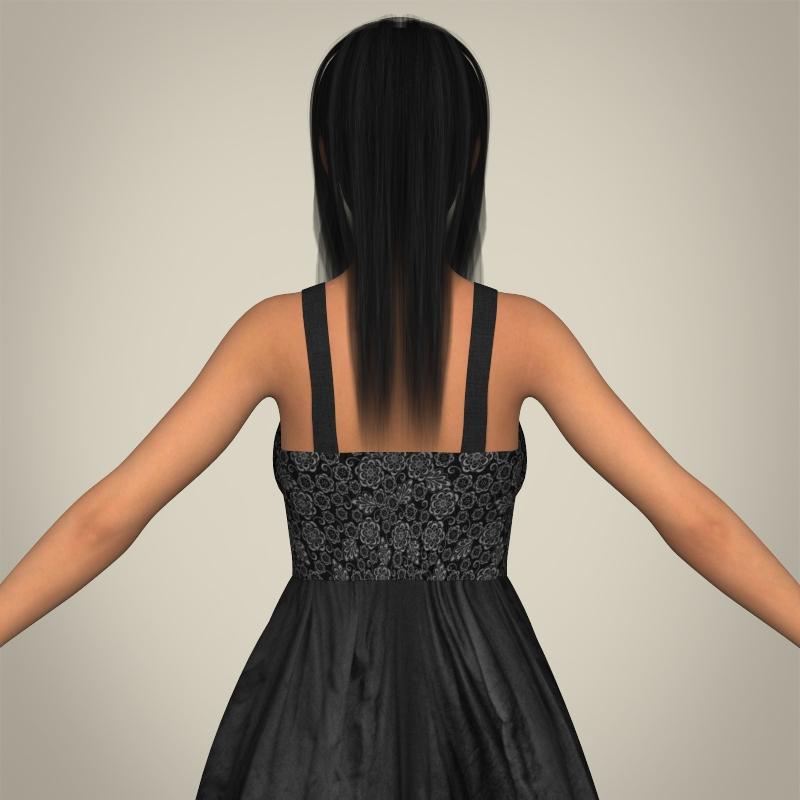 realistic pregnant woman 3d model 3ds max fbx c4d lwo ma mb texture obj 207450