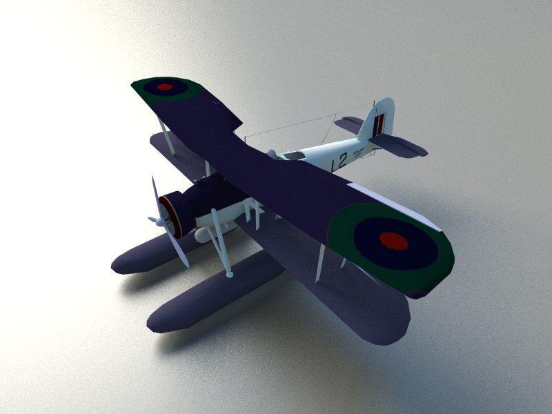 seaplane torpedo bomber 3d model 3ds dxf dwg skp obj 207463