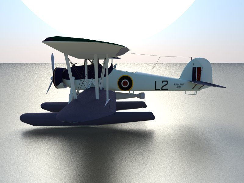 seaplane torpedo bomber 3d model 3ds dxf dwg skp obj 207466