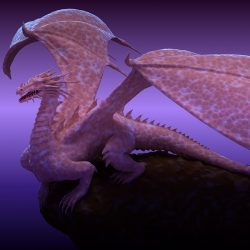 Winged Dragon 01 ( 337.7KB jpg by hpixel )