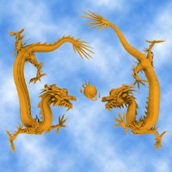 High Detail Chinese Dragon ( 488.59KB jpg by hpixel )