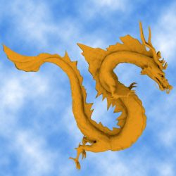 High Detail Chinese Dragon 02 ( 264.62KB jpg by hpixel )