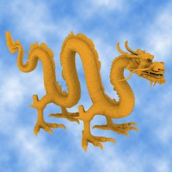 High Detail Chinese Dragon 03 ( 294.08KB jpg by hpixel )