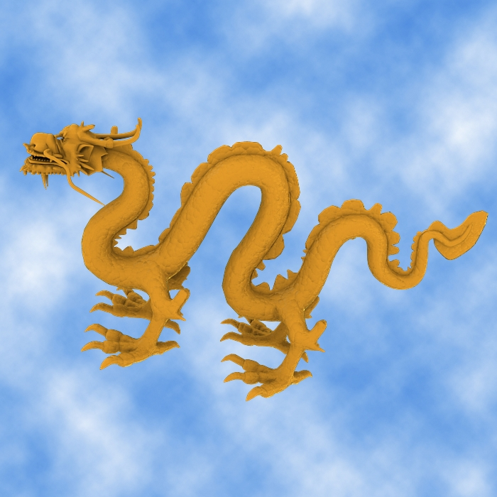 High Detail Chinese Dragon 03 ( 272.09KB jpg by hpixel )