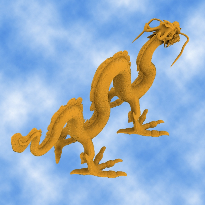 High Detail Chinese Dragon 03 ( 276.05KB jpg by hpixel )
