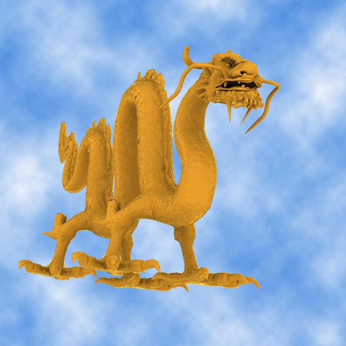 High Detail Chinese Dragon 03 ( 280.29KB jpg by hpixel )