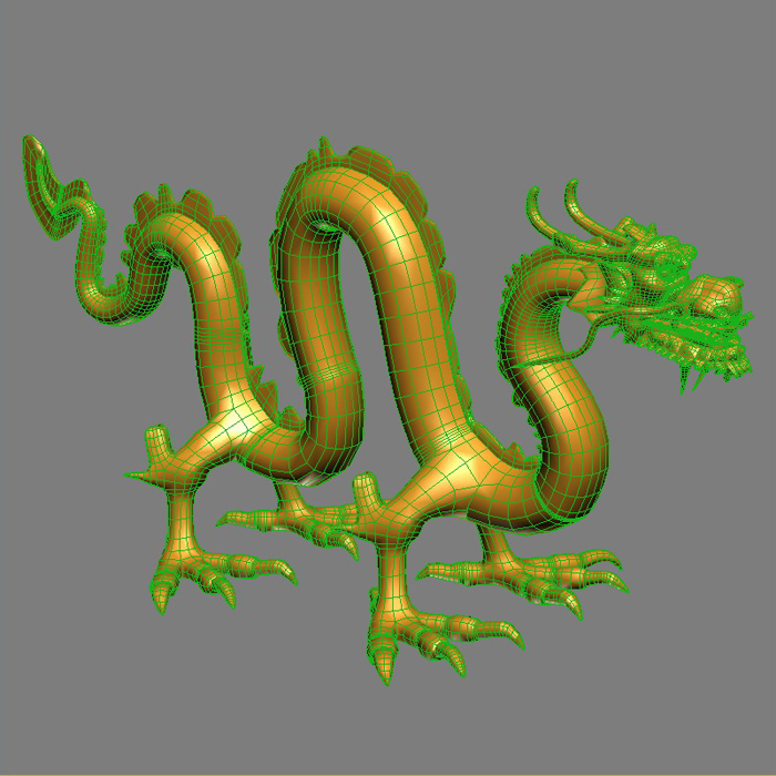 High Detail Chinese Dragon 03 ( 338.11KB jpg by hpixel )