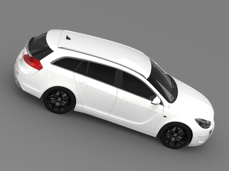 vauxhall insignia vrx sports tourer 2013 3d model 3ds max fbx c4d lwo ma mb hrc xsi obj 207675