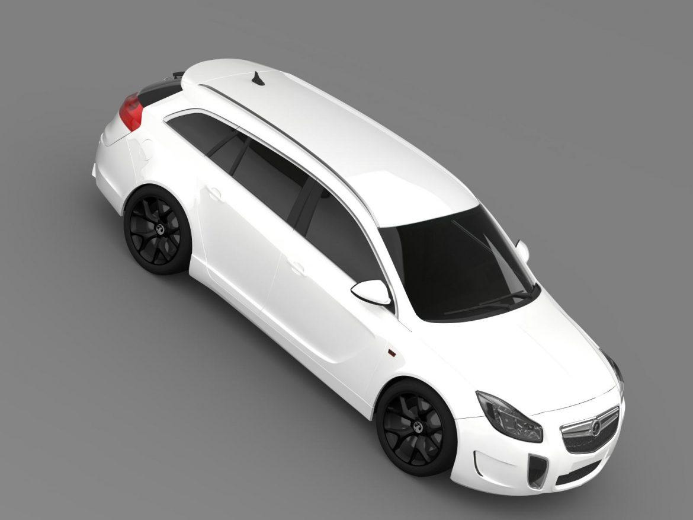 vauxhall insignia vrx sports tourer 2013 3d model 3ds max fbx c4d lwo ma mb hrc xsi obj 207676