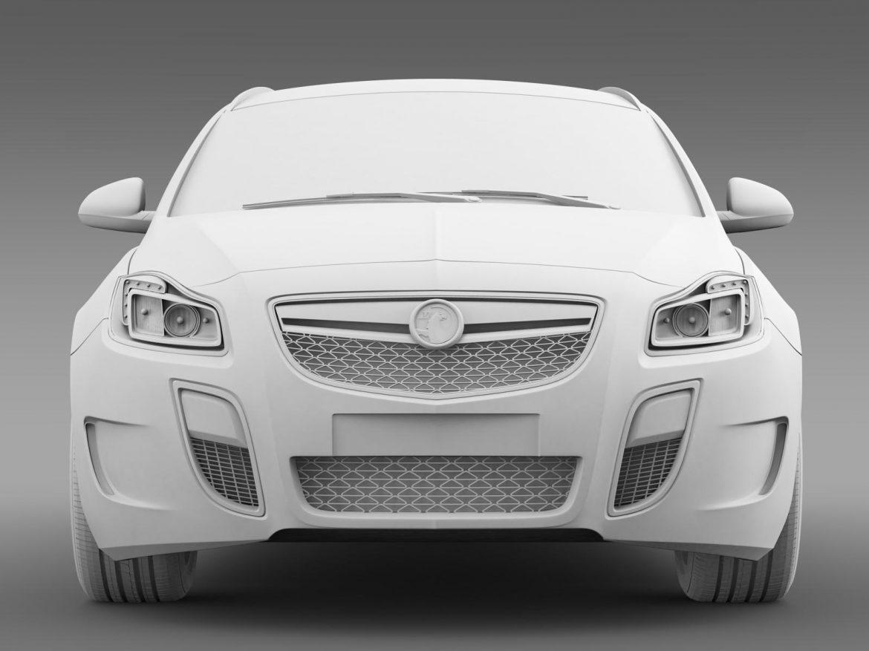 vauxhall insignia vrx sports tourer 2013 3d model 3ds max fbx c4d lwo ma mb hrc xsi obj 207677