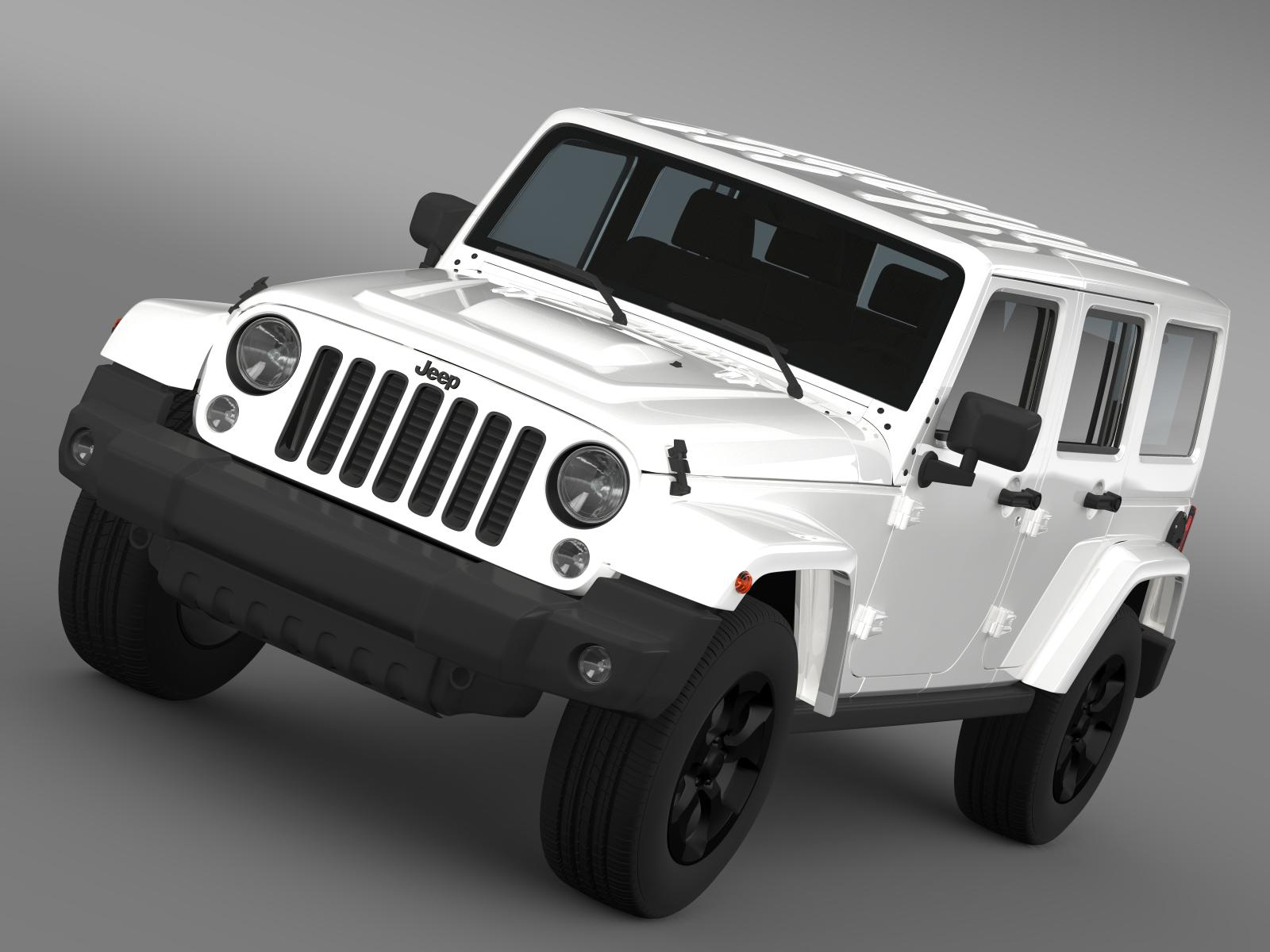 jeep wrangler black edition 2 2015 3d model 3ds max fbx c4d lwo ma mb hrc xsi obj 207777