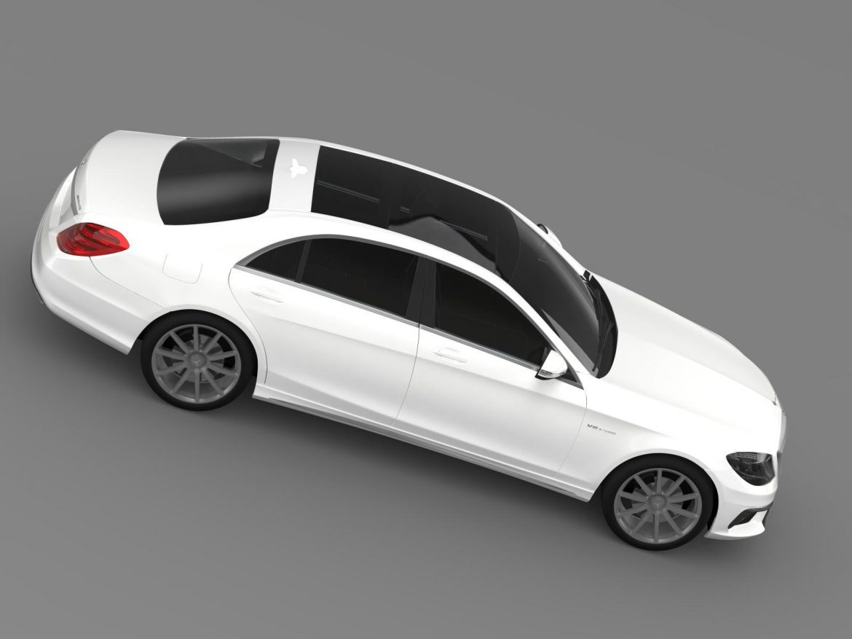 mercedes benz s 63 amg w222 2013 3d model 3ds max fbx c4d lwo ma mb hrc xsi obj 207807