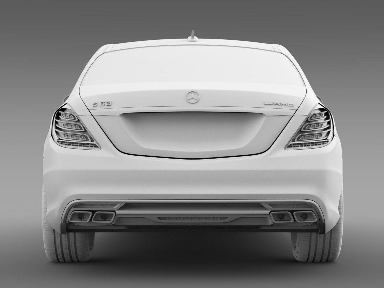 mercedes benz s 63 amg w222 2013 3d model 3ds max fbx c4d lwo ma mb hrc xsi obj 207810