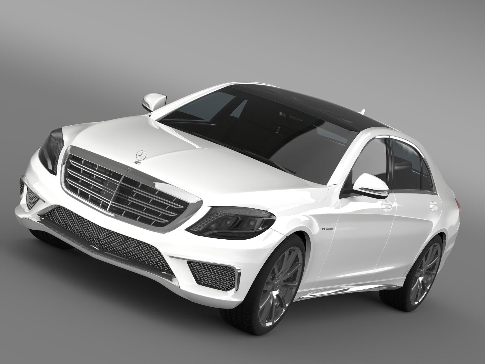 Mercedes benz s 65 amg w222 2014 3d model buy mercedes for Buy a mercedes benz