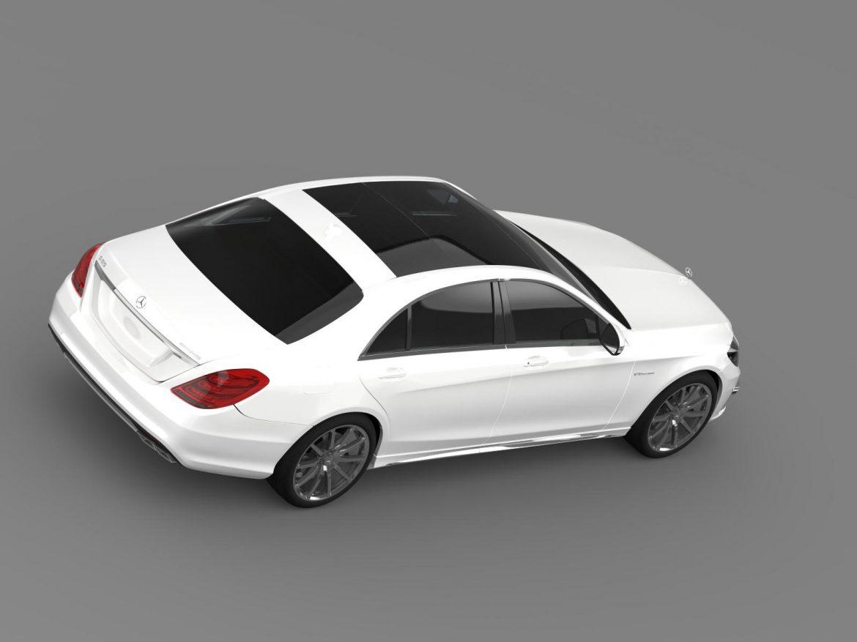 mercedes benz s 65 amg w222 2014 3d model 3ds max fbx c4d lwo ma mb hrc xsi obj 207826