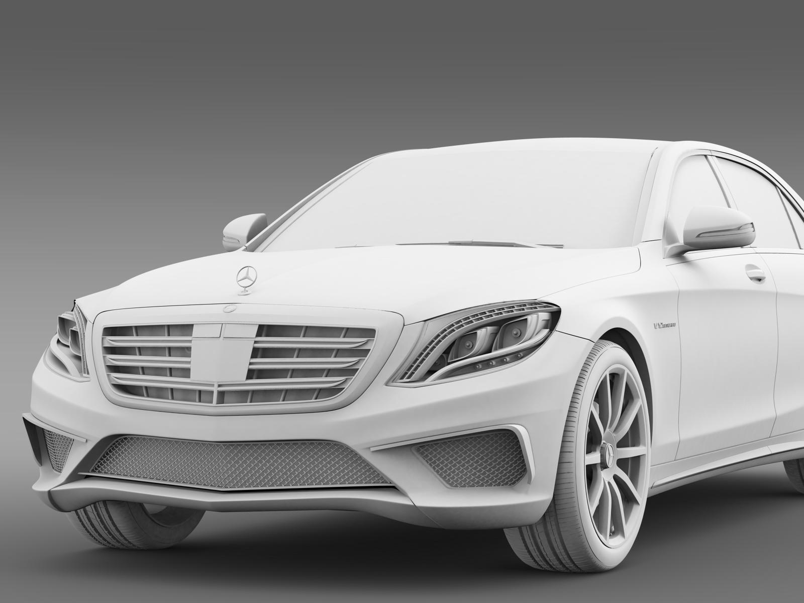 Mercedes benz s 65 amg w222 2014 3d model buy mercedes for Who buys mercedes benz