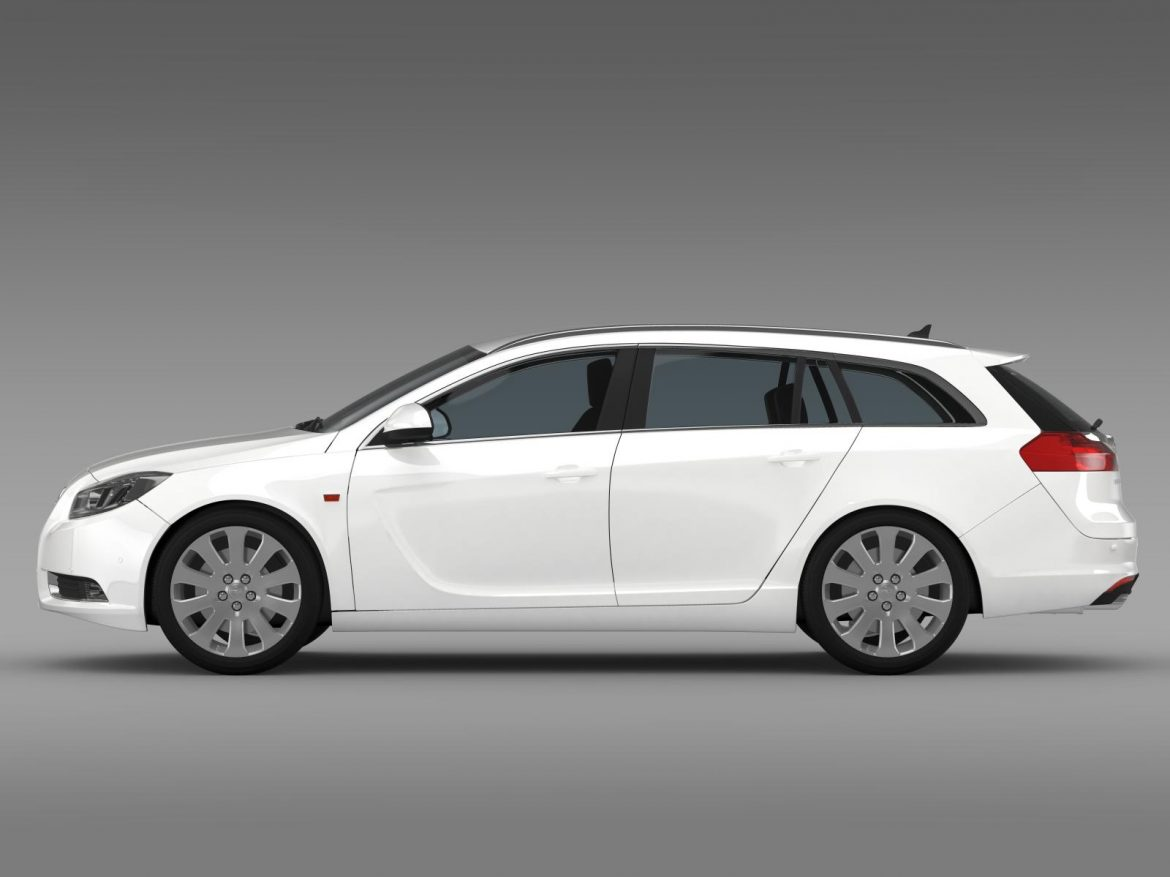 opel insignia turbo 4×4 sports tourer 2013 3d model 3ds max fbx c4d lwo ma mb hrc xsi obj 207881