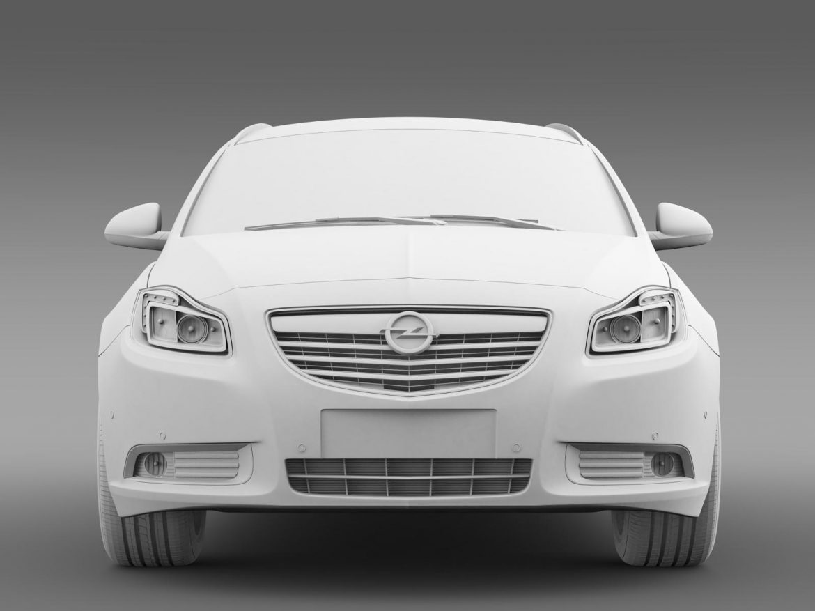 opel insignia turbo 4×4 sports tourer 2013 3d model 3ds max fbx c4d lwo ma mb hrc xsi obj 207888