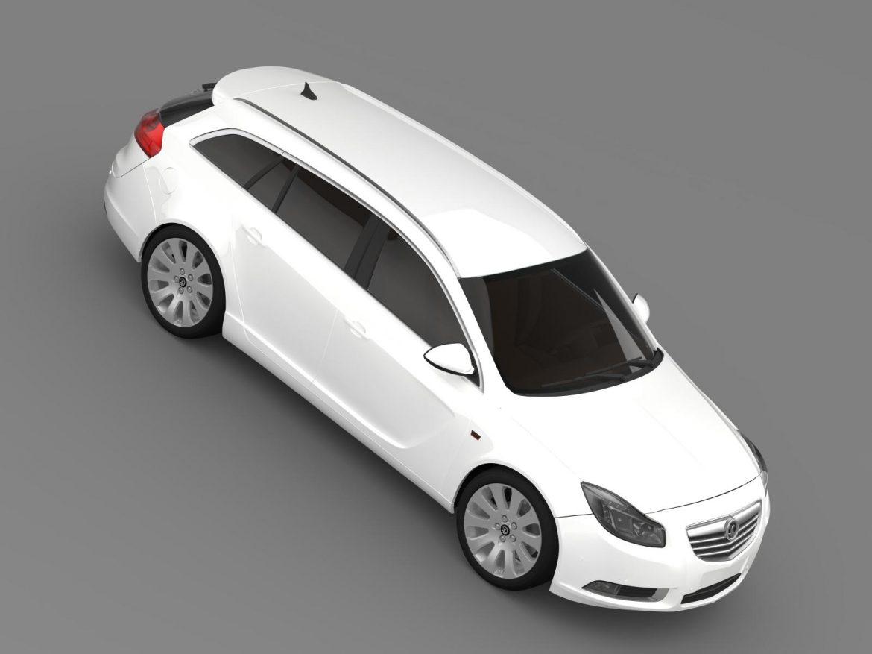vauxhall insignia 4×4 sports tourer 2013 3d model 3ds max fbx c4d lwo ma mb hrc xsi obj 207927