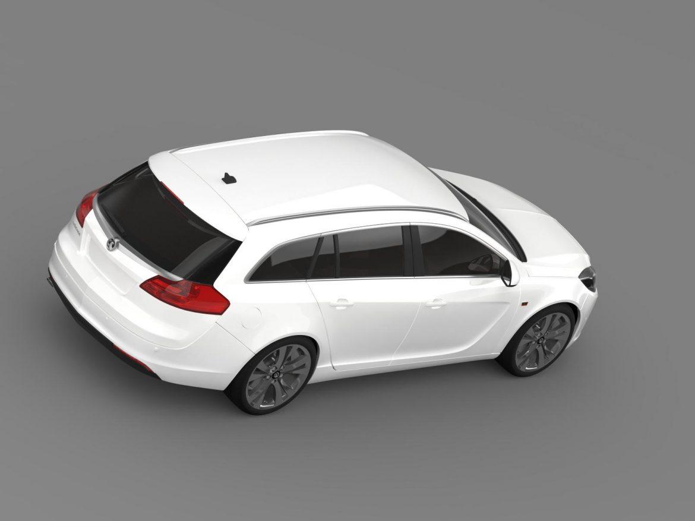 vauxhall insignia sports tourer 2013 3d model max fbx lwo ma mb hrc xsi obj 207945
