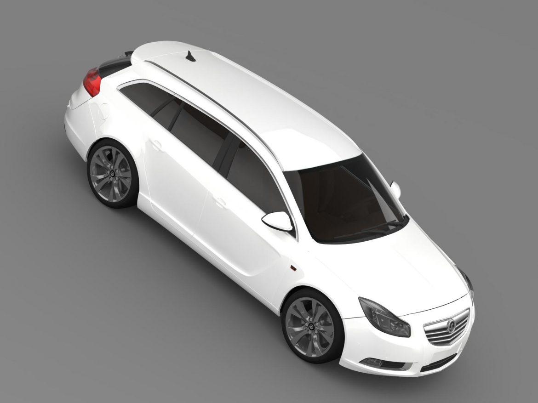 vauxhall insignia sports tourer 2013 3d model max fbx lwo ma mb hrc xsi obj 207947