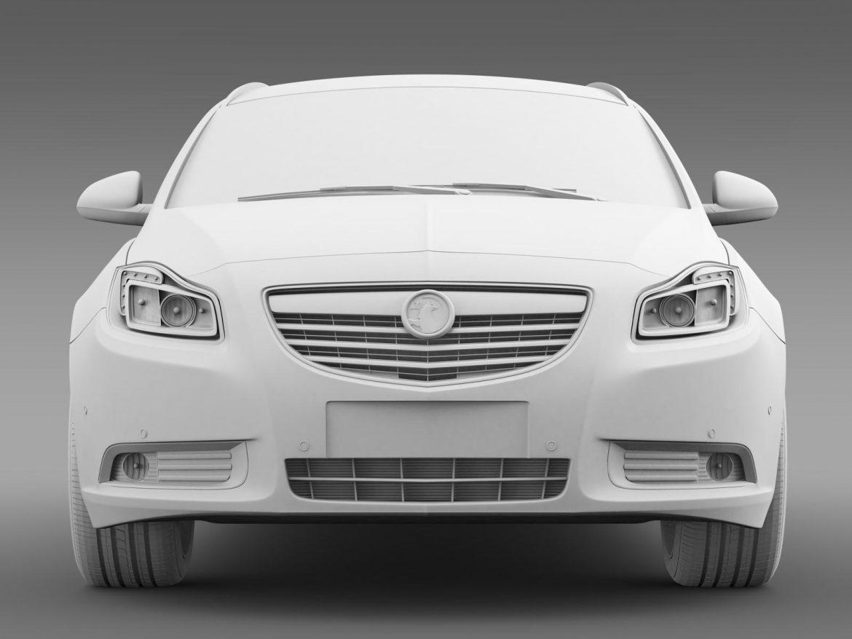vauxhall insignia sports tourer 2013 3d model max fbx lwo ma mb hrc xsi obj 207948