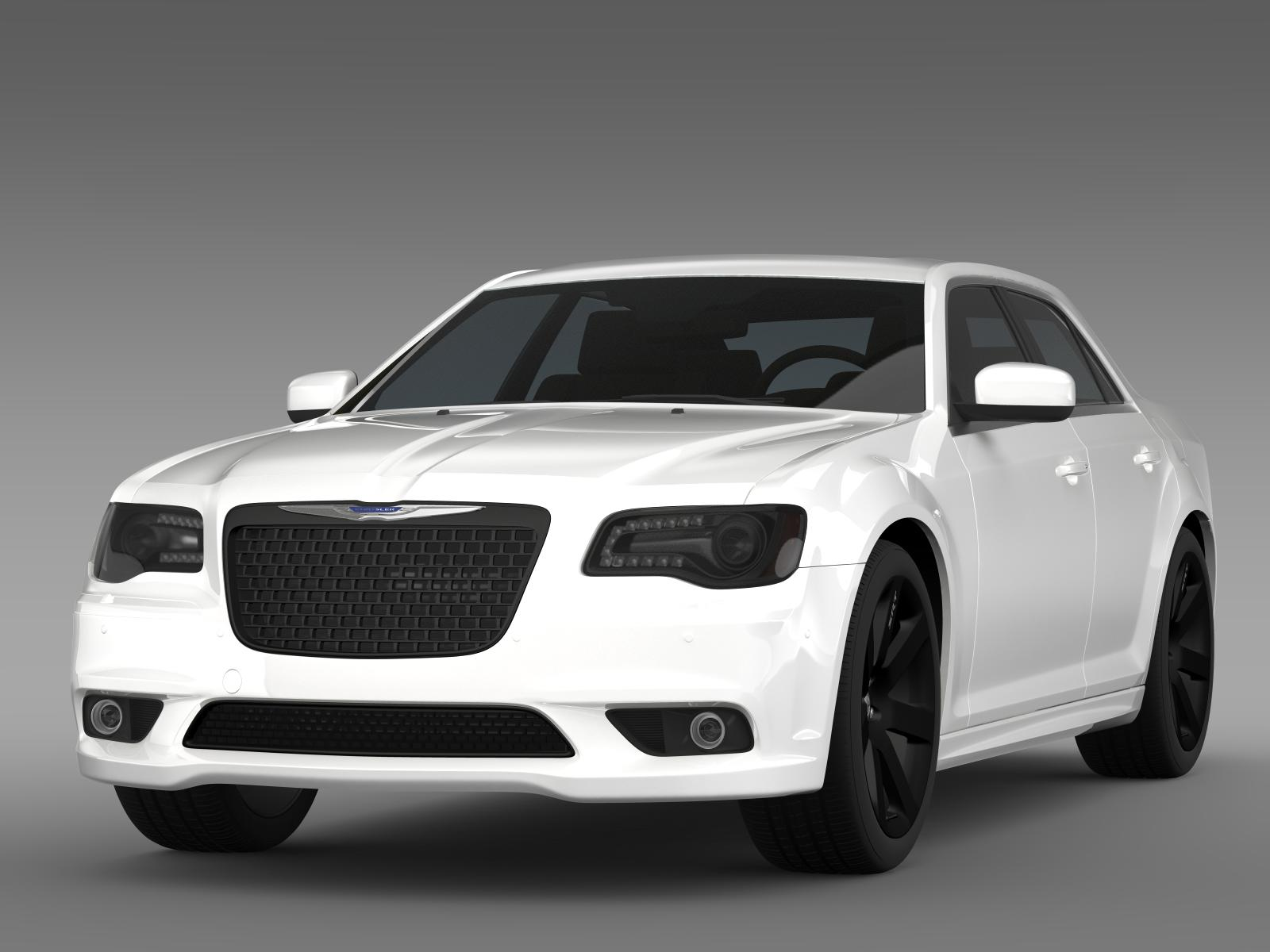 chrysler 300 srt8 2012 3d model 3ds max fbx c4d lwo ma mb hrc xsi obj 207956