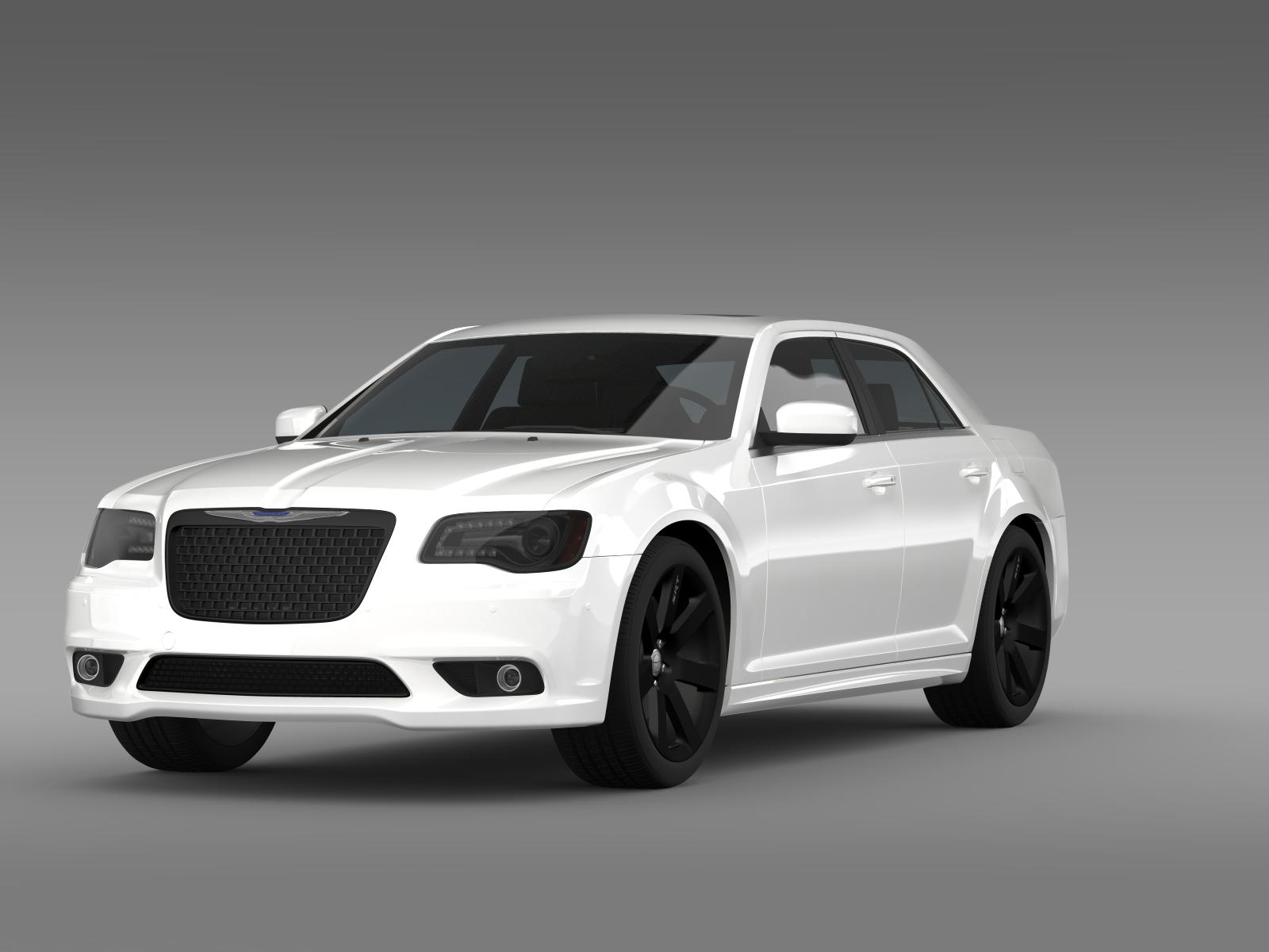 chrysler 300 srt8 2012 3d model buy chrysler 300 srt8. Black Bedroom Furniture Sets. Home Design Ideas