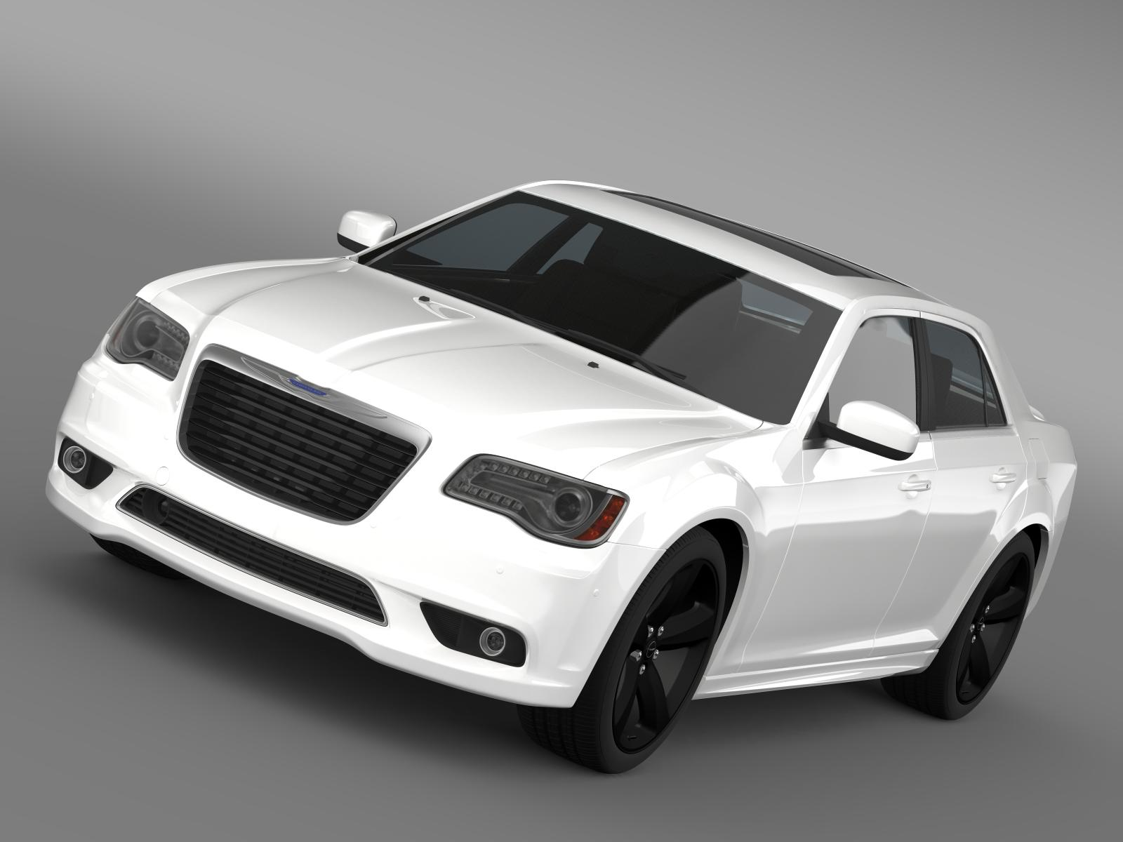 chrysler 300s 2013 3d model 3ds max fbx c4d lwo ma mb hrc xsi obj 207976