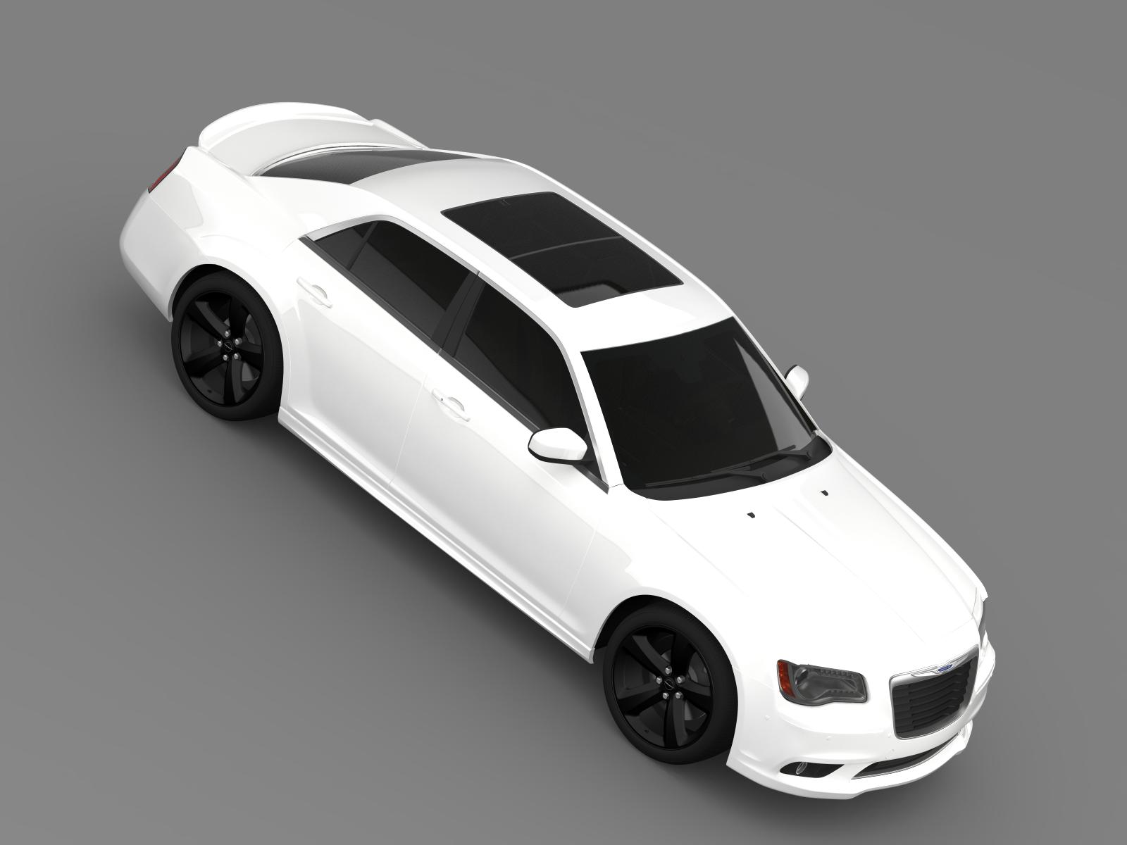 Wonderful Chrysler 300S 2013 3d Model 3ds Max Fbx C4d Lwo Lws Lw Ma Mb Obj
