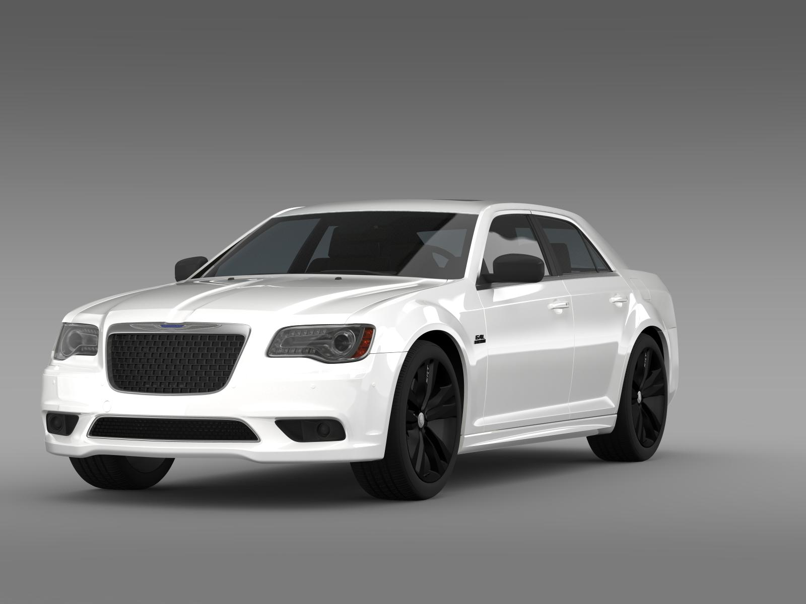 chrysler 300 srt8 satin vapor lx2 2014 3d model 3ds max fbx c4d lwo ma mb hrc xsi obj 207996