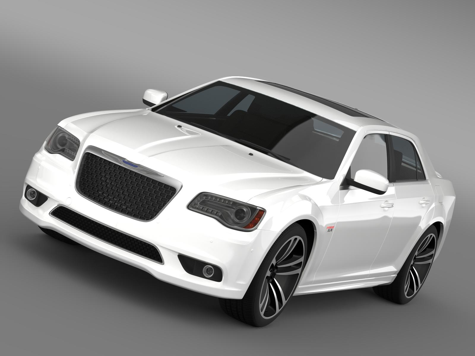 chrysler 300 srt8 core 2013 3d model 3ds max fbx c4d lwo ma mb hrc xsi obj 208016
