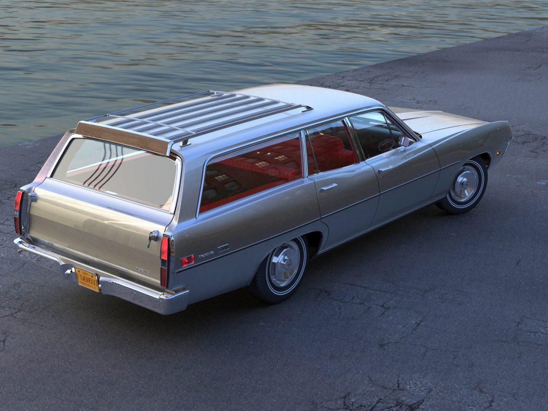torino wagon 1971 3d model 3ds max fbx blend c4d obj 208037