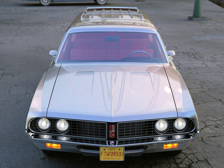 torino wagon 1971 3d model 3ds max fbx blend c4d obj 208038