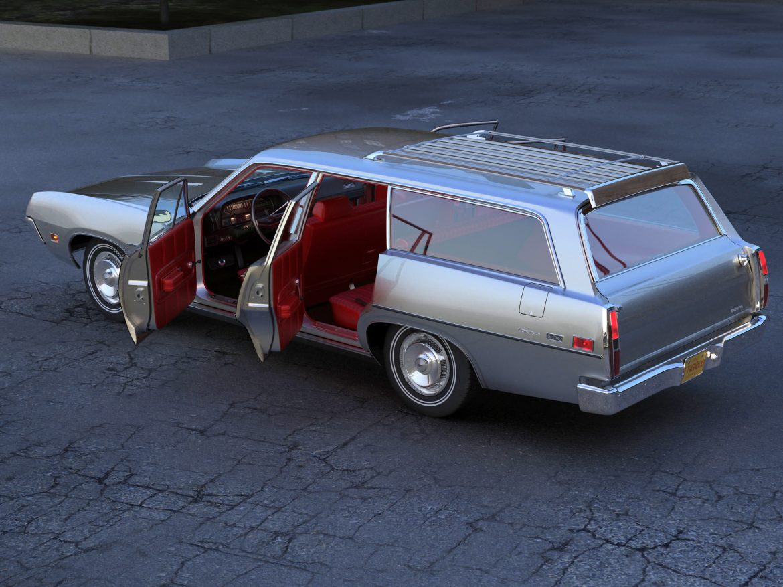 torino wagon 1971 3d model 3ds max fbx blend c4d obj 208042