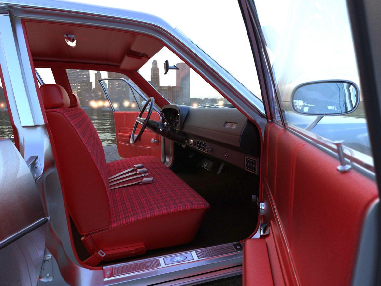 torino wagon 1971 3d model 3ds max fbx blend c4d obj 208043