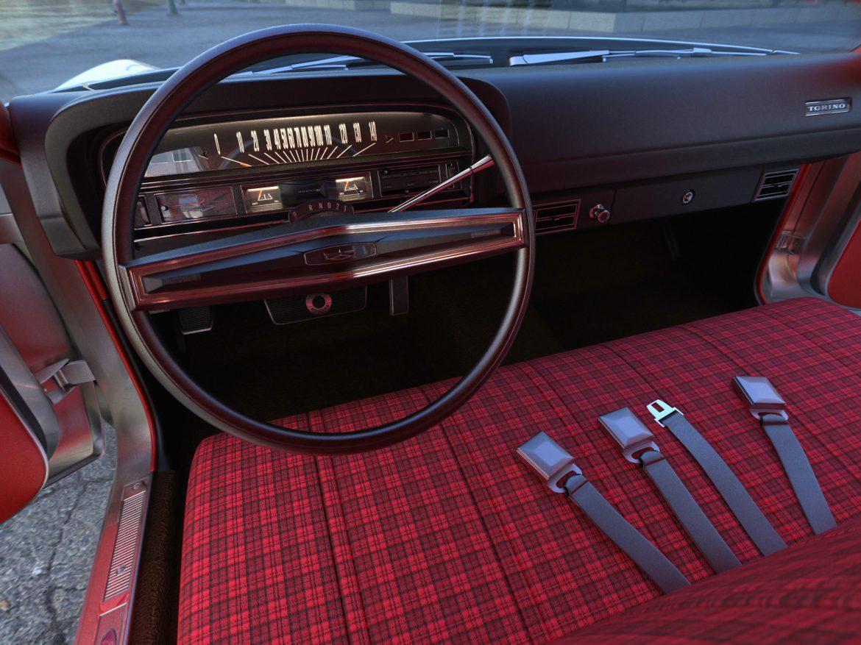 torino wagon 1971 3d model 3ds max fbx blend c4d obj 208044