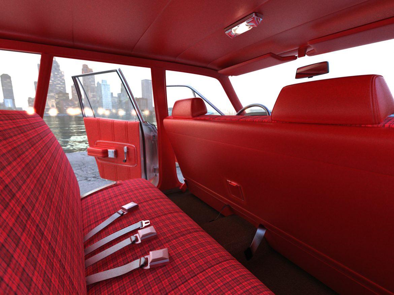 torino wagon 1971 3d model 3ds max fbx blend c4d obj 208047
