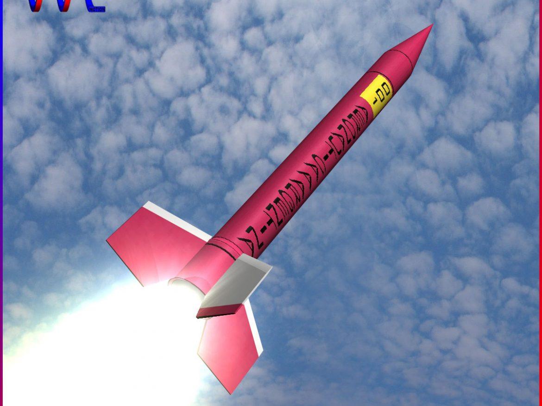 Orion I Rocket 3d model 0