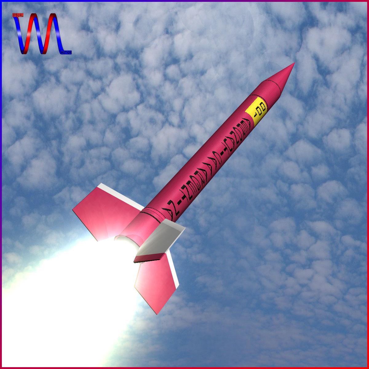 Orion I Rocket 3d model 3ds dxf fbx blend cob dae X  obj 208053