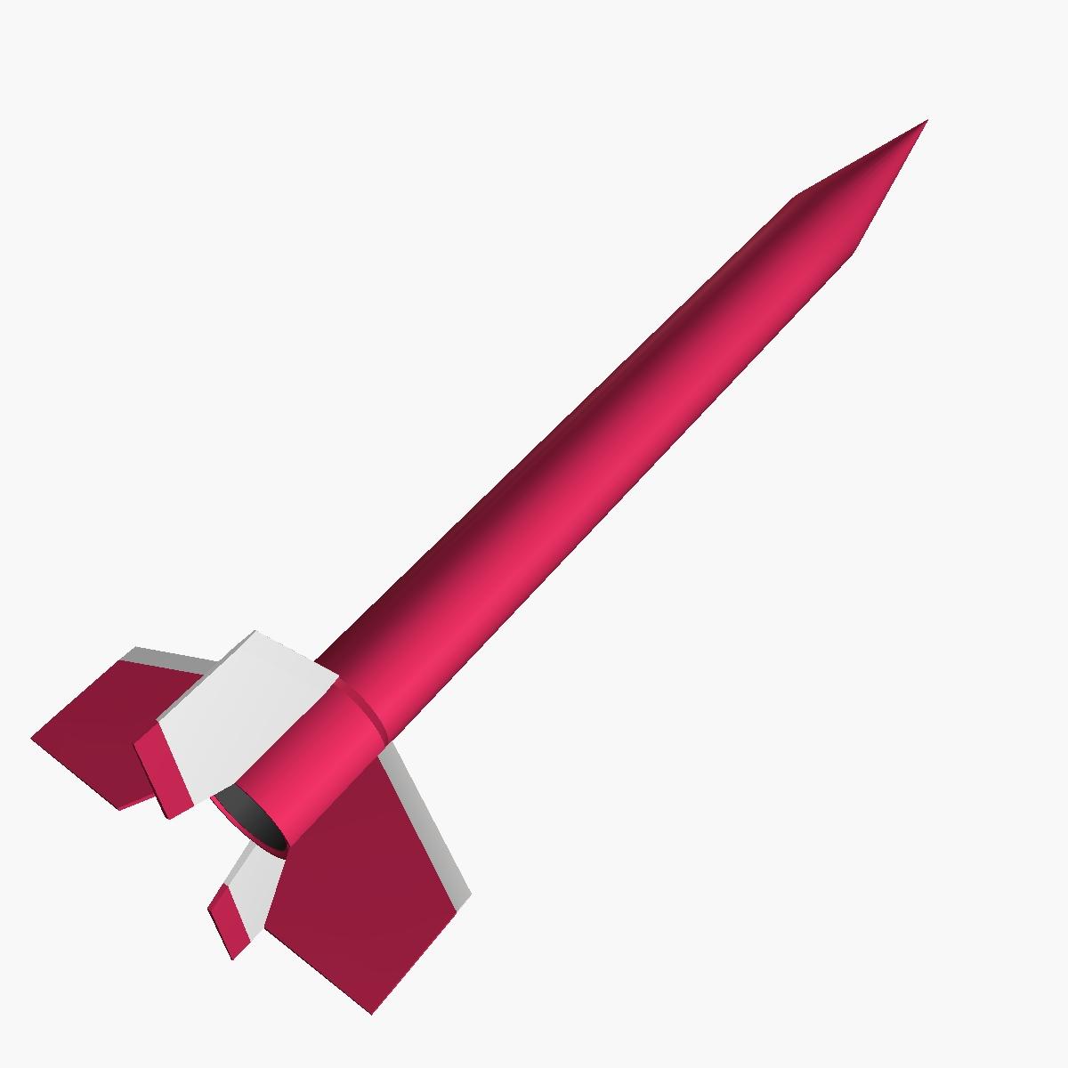 orion i rocket 3d model 3ds dxf fbx blend cob dae x  obj 208054