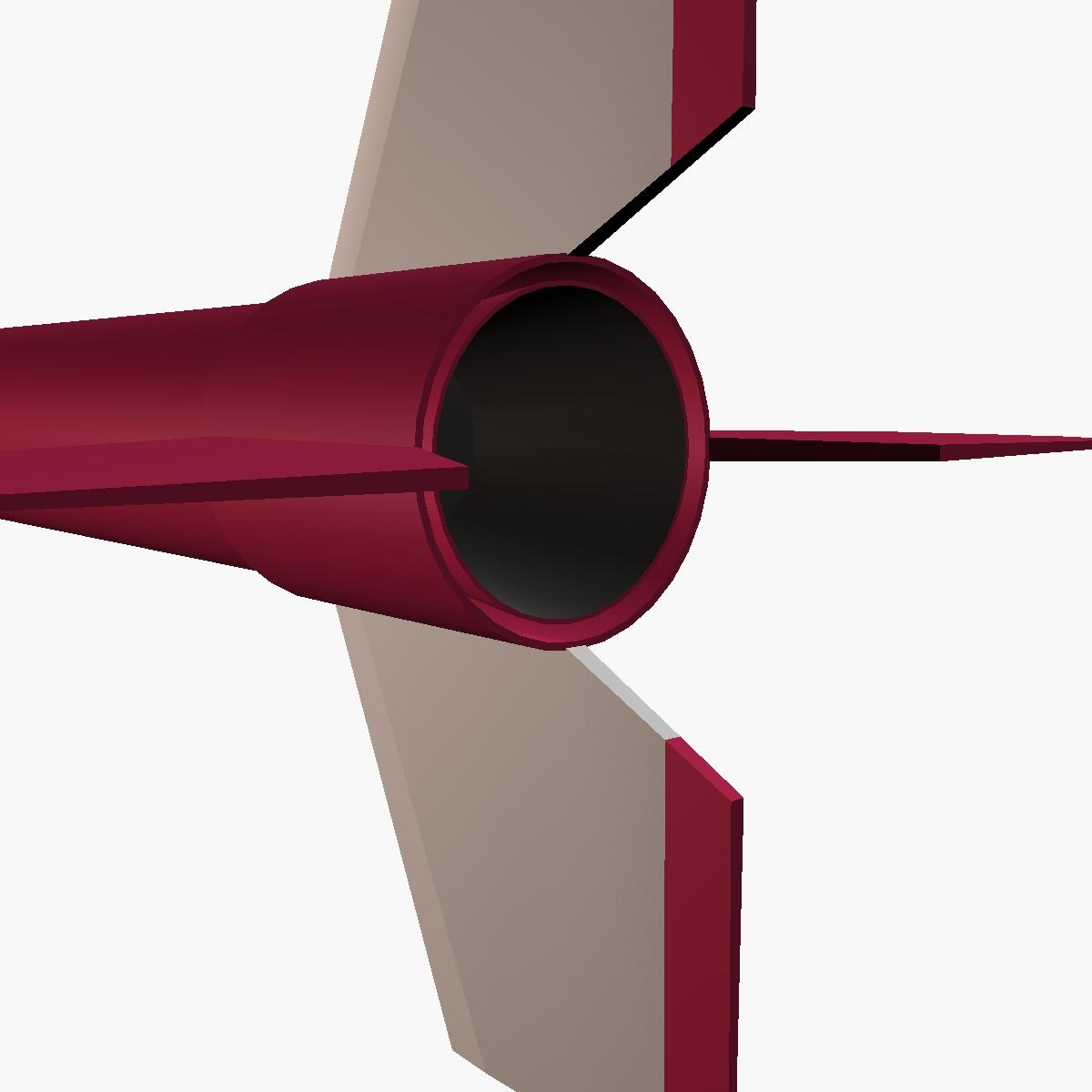 orion i rocket 3d model 3ds dxf fbx blend cob dae x  obj 208061