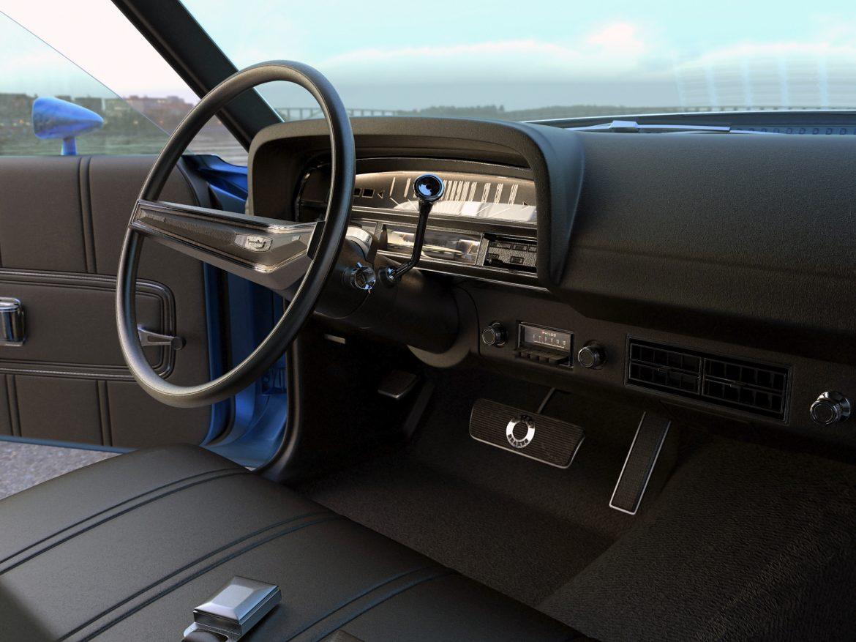 fairlane coupe 1970 3d model 3ds max fbx c4d obj 208191