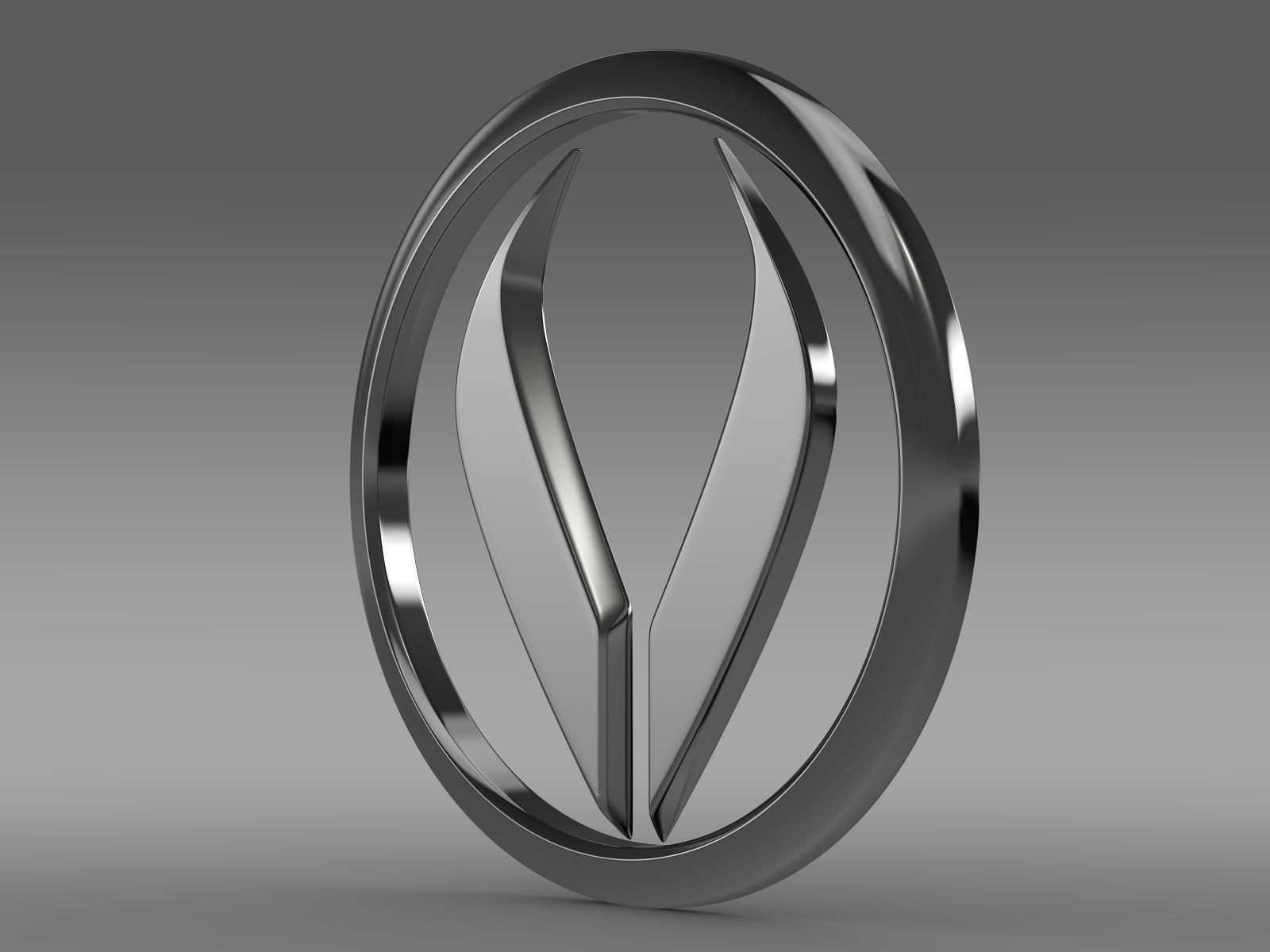 Alpheon logo 3d model 3ds max fbx c4d lwo lws lw ma mb  obj 208195