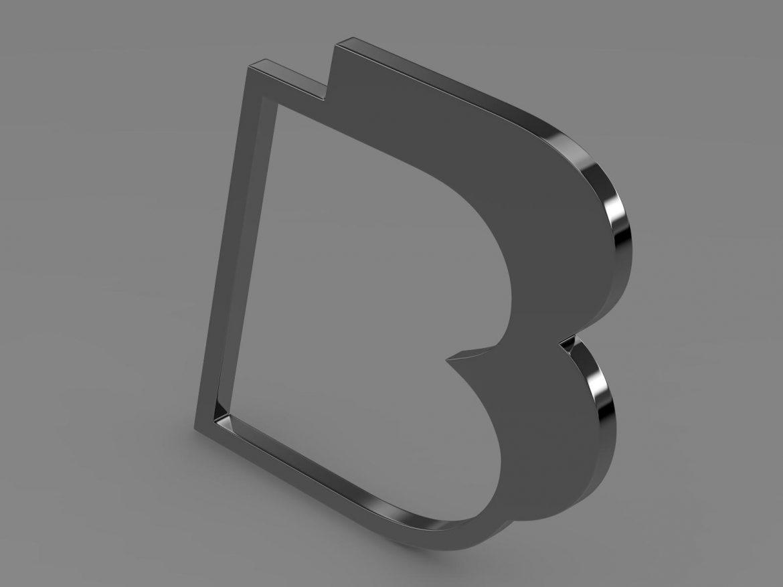 bb logo 3d model 3ds max fbx lwo ma mb hrc xsi obj 208211