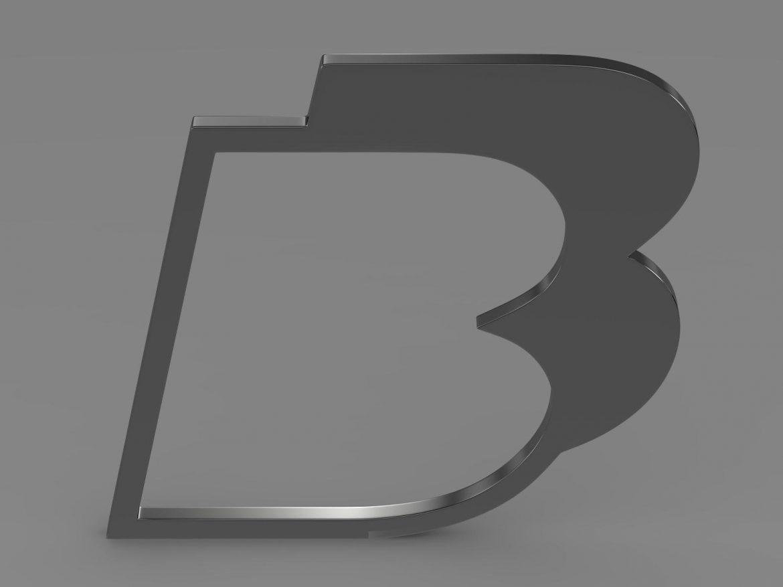 bb logo 3d model 3ds max fbx lwo ma mb hrc xsi obj 208212