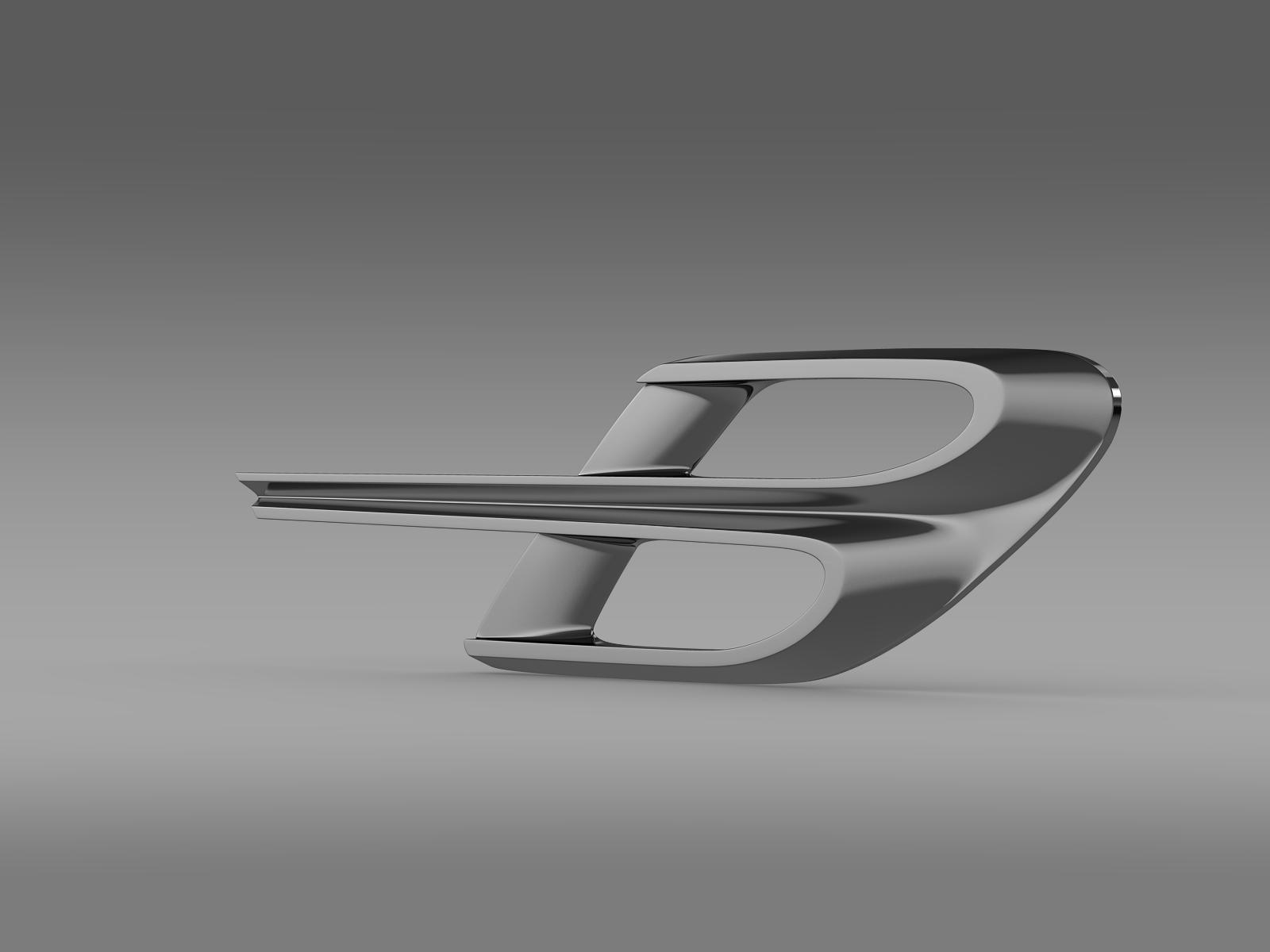 bentley logo 3d model 3ds max fbx c4d lwo ma mb hrc xsi obj 208221