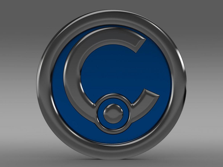casalini logo 3d model 3ds max fbx c4d lwo ma mb hrc xsi obj 208236