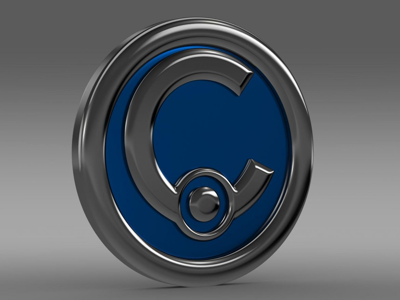 casalini logo 3d model 3ds max fbx c4d lwo ma mb hrc xsi obj 208237