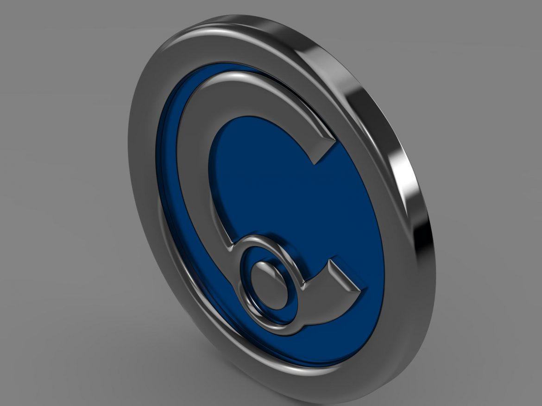 casalini logo 3d model 3ds max fbx c4d lwo ma mb hrc xsi obj 208238